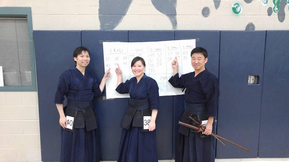 HKK members passed shinsa - SWKIF 2016 Spring Testing