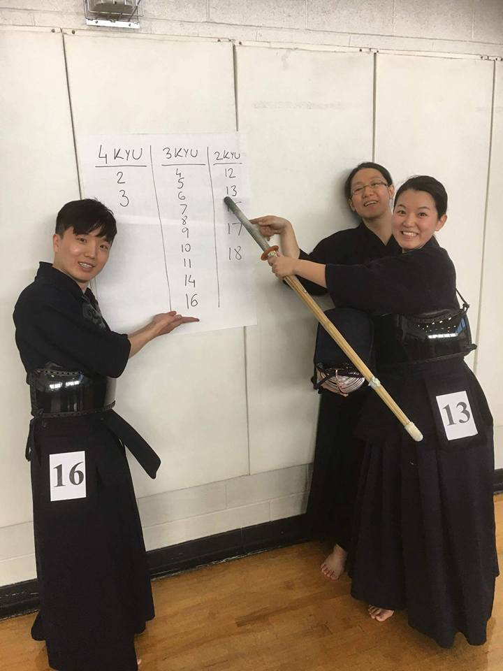 HKK Members passed kyu testing at SWKIF Fall Seminar.
