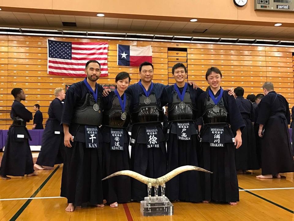 1st place at the 15th Longhorn Invitational Kendo Team Taikai. Photo by Simon J. Martinez