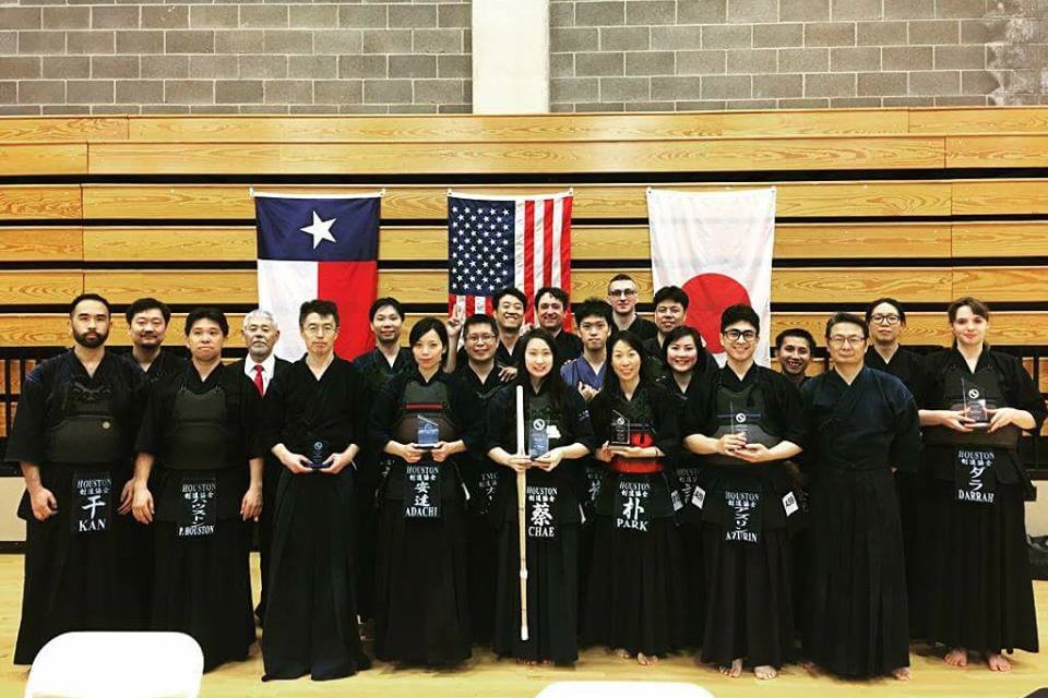 Group Photo with Winners from Dallas Tournament