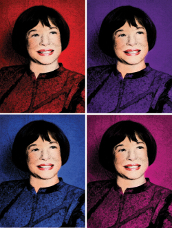 Myra Janco Daniels, photo from Gulfshore Life Magazine