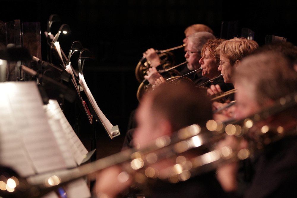 Naples Philharmonic Orchestra Brass Section, photo by NaplesNews.com