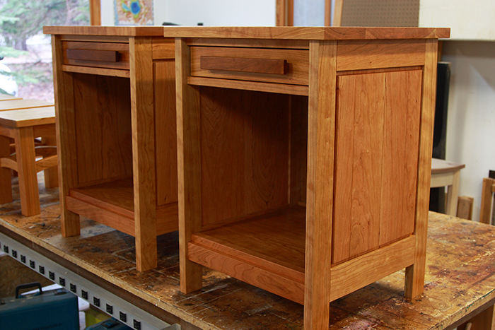 Cherry Nightstands