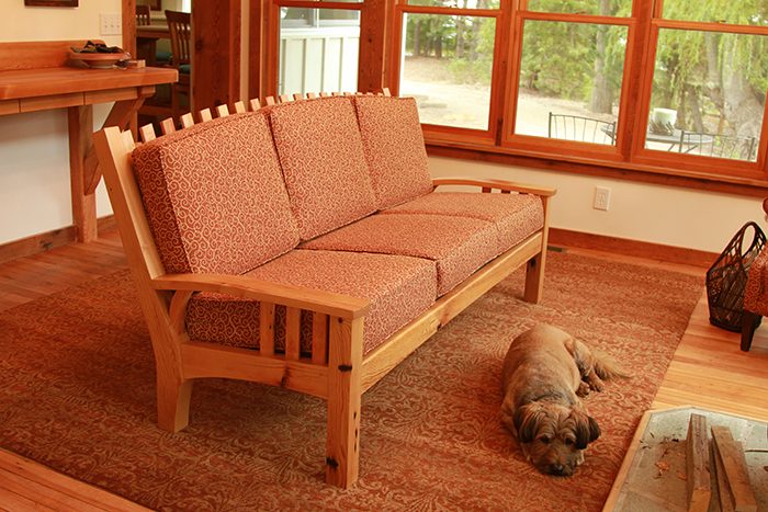 Reclaimed Hemlock Sofa
