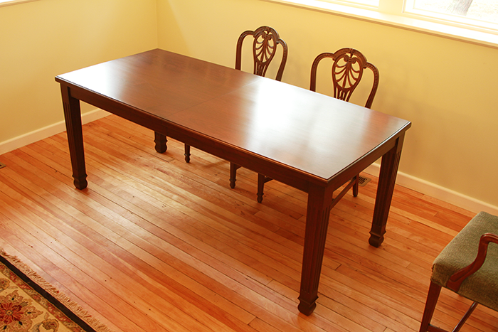 Cherry Dining Table w/extension