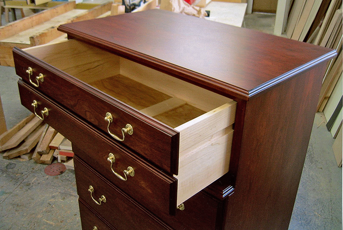 Cherry & Maple Dresser
