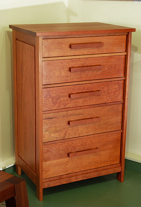 5 Drawer Cherry Dresser