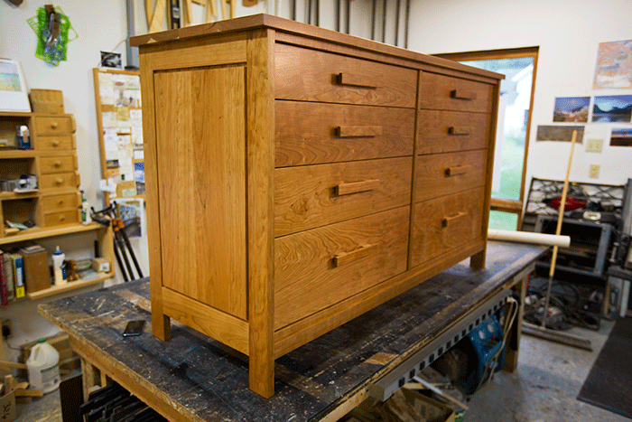 8 drawer Cherry Dresser