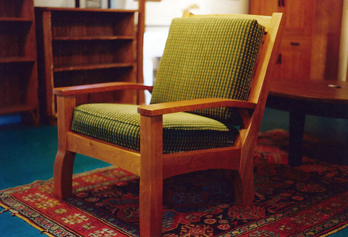 Cherry Easy Chair