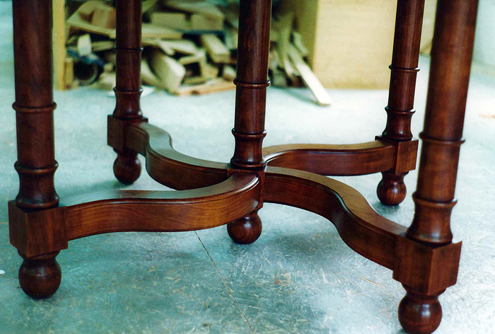 Cherry Dining Table Base