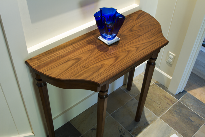 Walnut Entrance Table