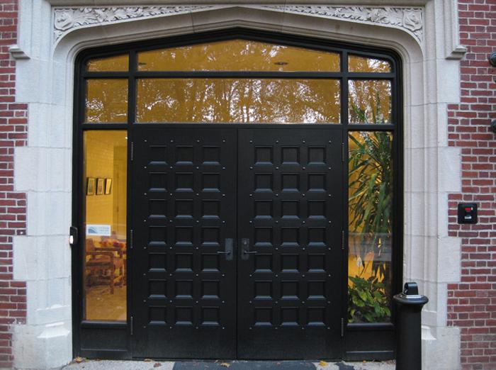 White Oak Entrance Doors