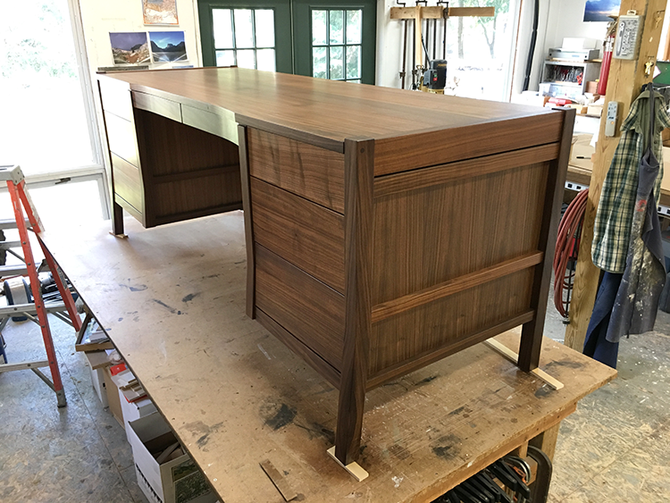 Rift Sawn Walnut Desk