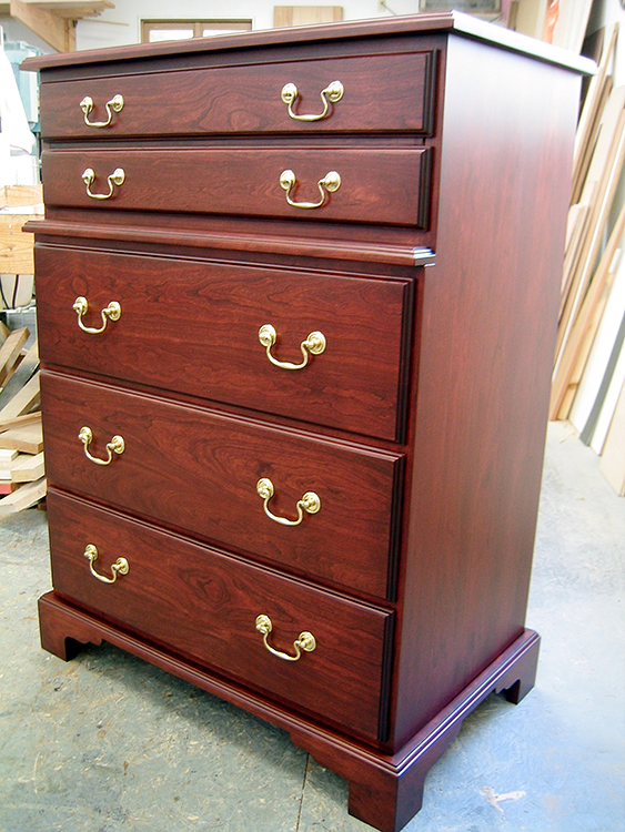 Cherry and Maple Chest