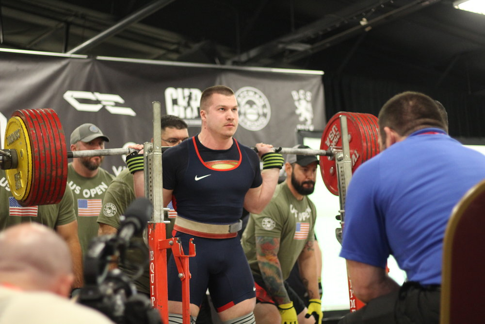 YURY BELKIN   #1 Ranked Powerlifter in the World at 220 Pounds