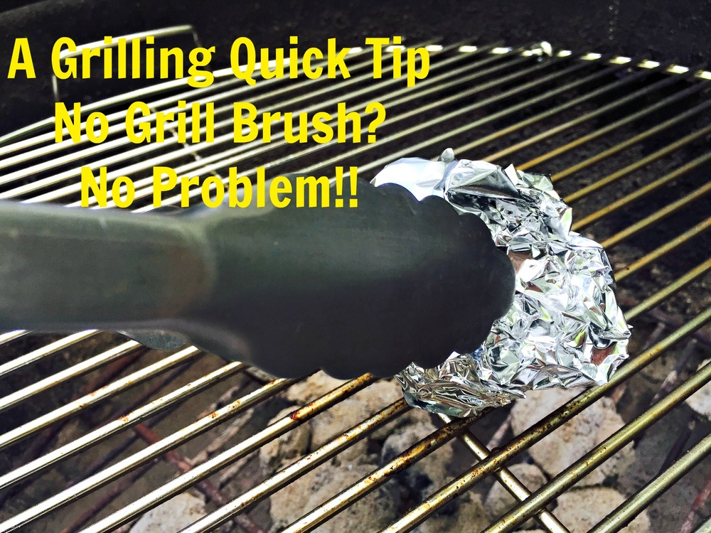 a grilling quick tip