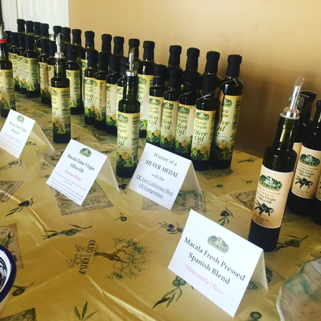 Olive Oil Tasting Night 6/24/17