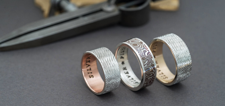 Hobo Nickel Ring Silver Piston