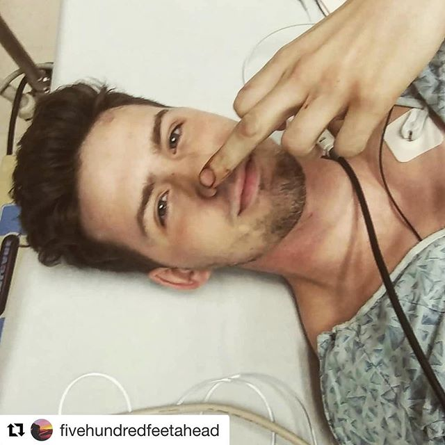 This is my cousin's oldest son @fivehundredfeetahead and he's gonna be fine. His ass just got shot five times in a robbery and's posting on insta. We're freaked out but damn, shot 5 times.  #Repost @fivehundredfeetahead ・・・ Shot me 5 times and still can't kill me 😌😘