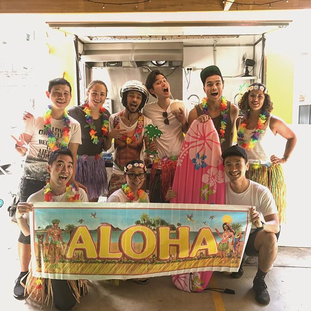 We're all going on a... HAWAIIAN HOLIDAY! And you can join us! We will be closing John Montagu for renovations on Monday 15th January, and opening our HAWAIIAN food van just around the corner. Expect spam, poke and poi! . #JoMohana