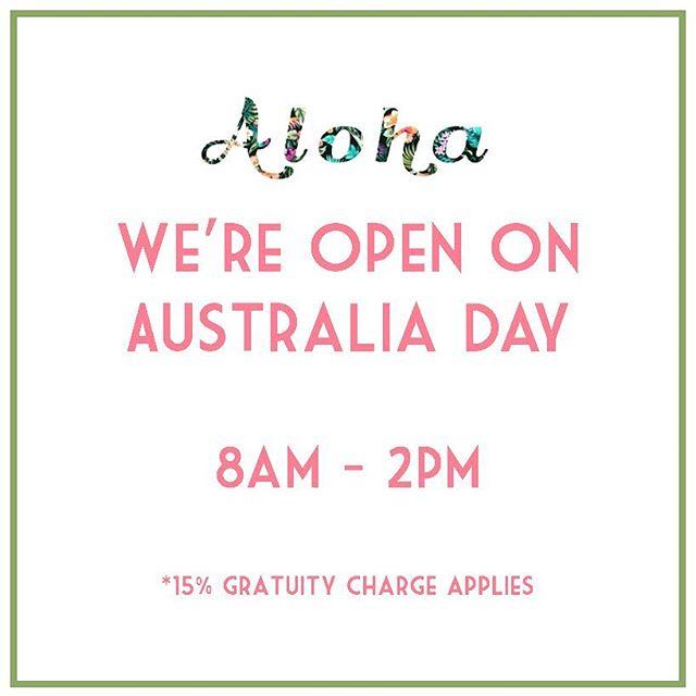 We're here for you this Friday with our full #popup menu! ☕️ 🥤 🍍 🍔 🍟 🥗 🍳 🥓 . . . . . . . #JoMohana #australiaday #johnmontagu #sydneyeats #foodtruck #foodtrucksydney #sydneyfoodie #popup #coffee #woolloomooloo #sydneypopup #sydneyfoodie #sydneyfood
