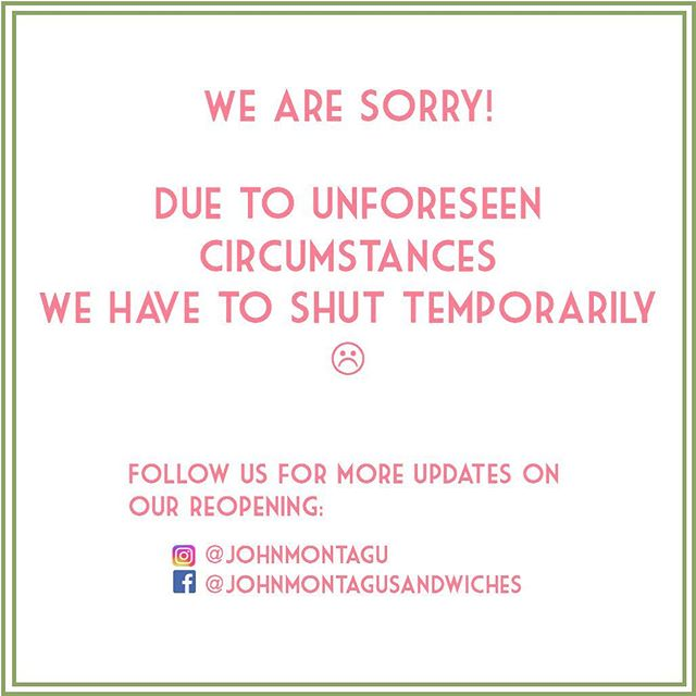 We are bummed :( We have to shut temporarily due to unforeseen circumstances.  Looks like we will all have a (hawaiian?) holiday for real now! . We hope to reopen again soon, so stay tuned for more updates!