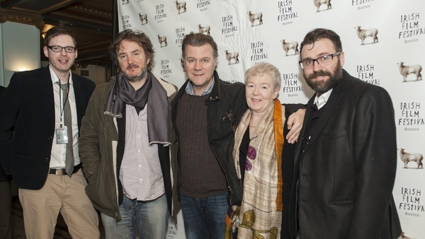 Film makers, actors and directors arrive at the festival.
