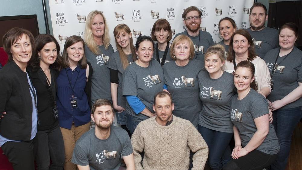 No crew like the Irish Film Fest crew!
