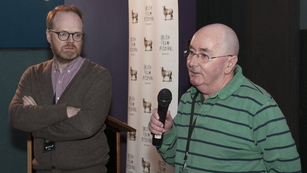 Director Trevor Birney and Vinny McCormack