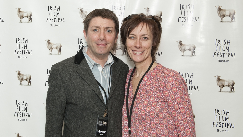 Director Damien O'Connor (ANYA) and Dawn Morrissey