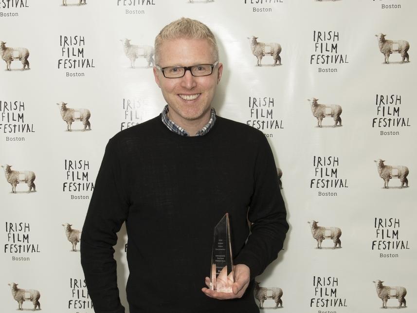 Director Ross Whitaker, Winner of our 2016 Best Documentary Award for Unbreakable: The Mark Pollack Story