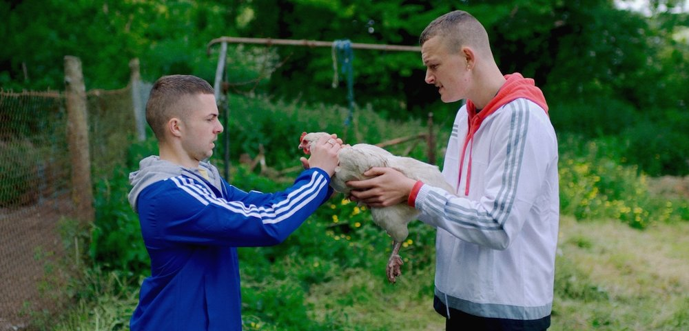 Best Breakthrough Feature  THE YOUNG OFFENDERS Directed by Peter Foott