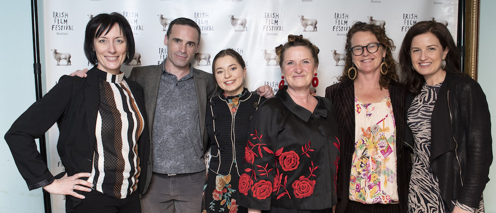 Dawn Morrissey, Dara Devaney, Hazel Doupe, Toma McCullim, Carmel Winters and Siobhan Fanning