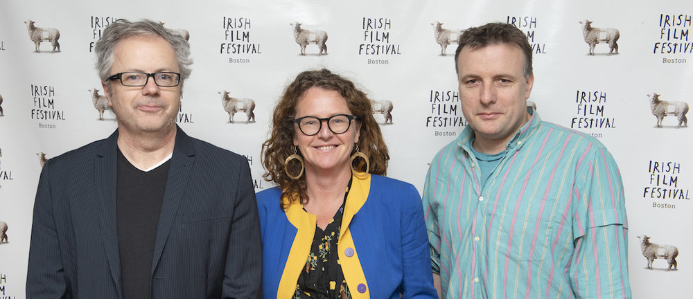 Directors Stephen Burke (MAZE), Carmel Winters (FLOAT LIKE A BUTTERFLY) and Liam O'Mochain (LOST AND FOUND)
