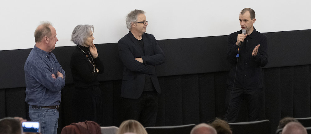 Q&A following our Saturday night screening of MAZE.