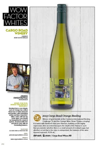 Buy now online Cargo Road Wines Riesling!