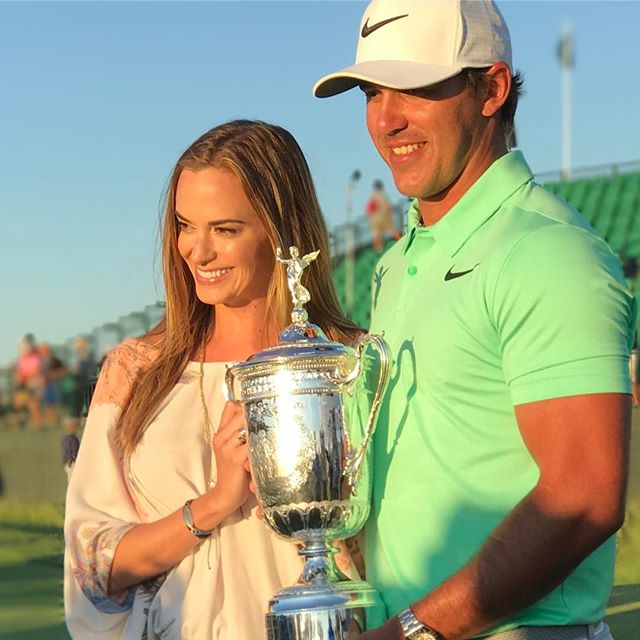 Congrats @bkoepka and @jenamsims ... what a day!!!! #erinhills #usopen #golf #nike #usopen2017