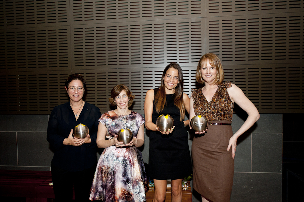 2012 Bold Ink Award Honorees:  Lisa Cholodenko (Screenwriter/Director, The Kids Are All Right), Kami Garcia and Margaret Stohl (Authors of the Beautiful Creatures series of novels), Melissa Rosenberg (Screenwriter/Producer, Twilight series, Dexter)  and Zoe Kazan (Playwright/Screenwriter, Ruby Sparks) - not pictured.