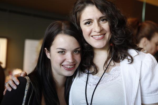 Mentor Retta Putignano with her WriteGirl Mentee