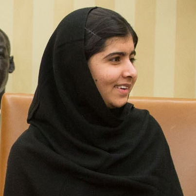 Malala Yousafzai. Photo credits:http://en.wikipedia.org/wiki/Malala_Yousafzai
