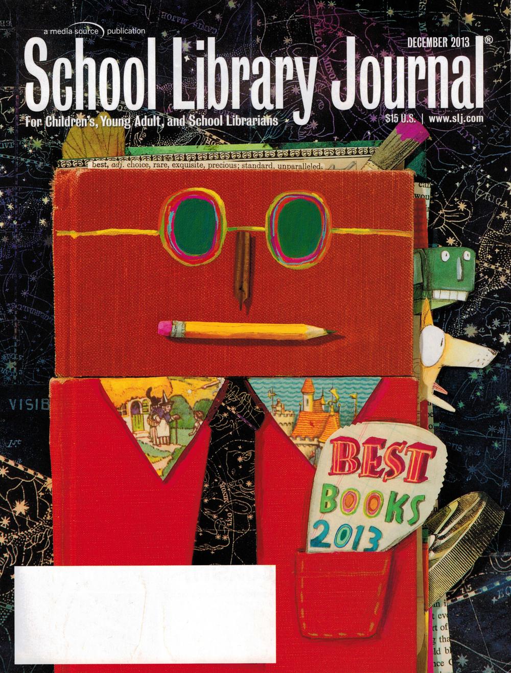 School Library Journal cover.JPG