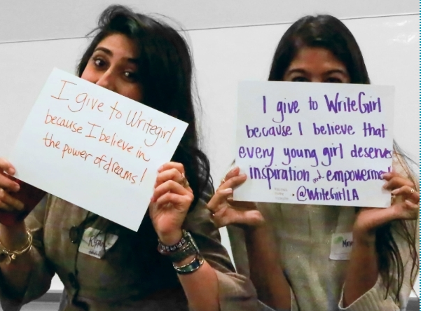 giving tuesday writegirl mentees