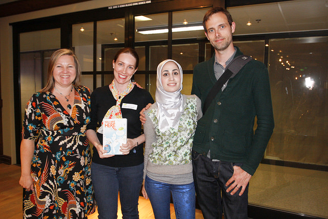 YA authors  Katie Alender ,  Tahereh Mafi  &  Ransom Riggs  join Keren Taylor at our annual Fiction Workshop.