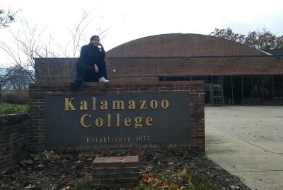 Vivian Enriquez at Kalamazoo college.