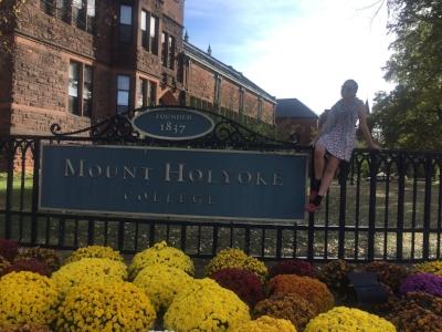 Molly Kleinman at Mount Holyoke.