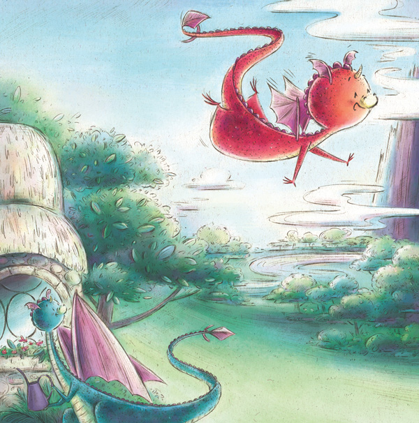 Little Wing Learns To Fly written by Calista Brill illustrated by Jennifer A. Bell