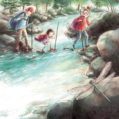 From Rhoda's Rock Hunt. Written by Molly Beth Griffin illustrated by Jennifer A. Bell