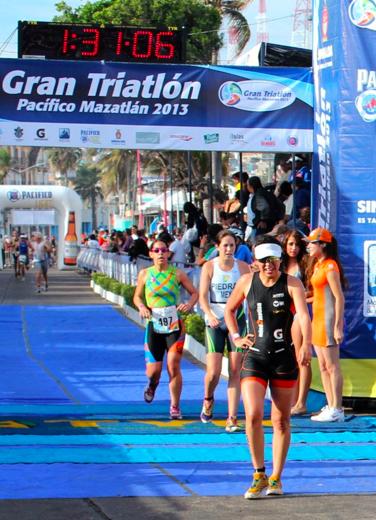 3er lugar en el triatlón de Mazatlán. 2013