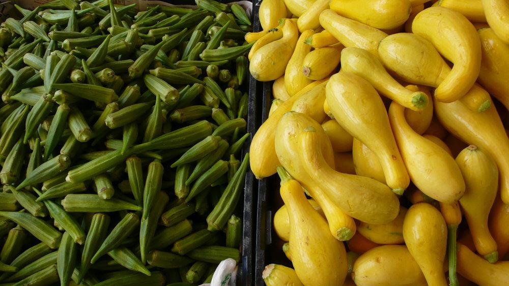 Charleston Farmer's Market Tour