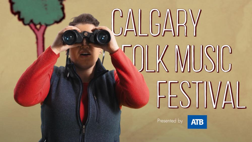 Calgary Folk Festival - See more work